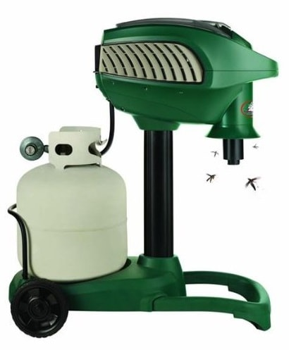 High-End Vacuum Mosquito Trap: photo
