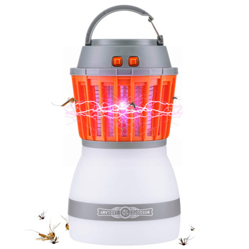 Waterproof Mosquito Bug Zapper for Camping: photo